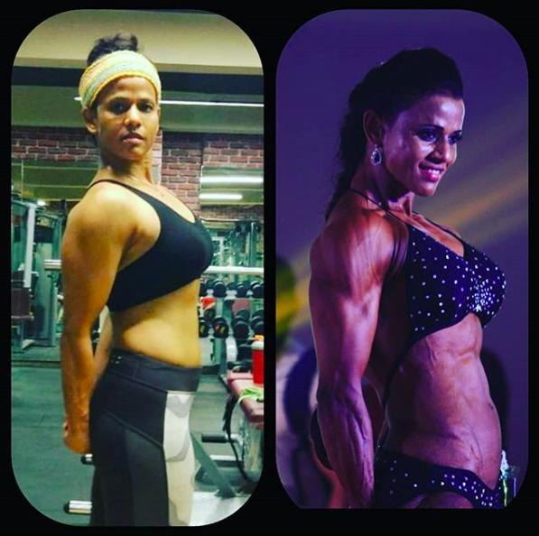 Anuradha Rao - Bodybuilding miss asia 2017