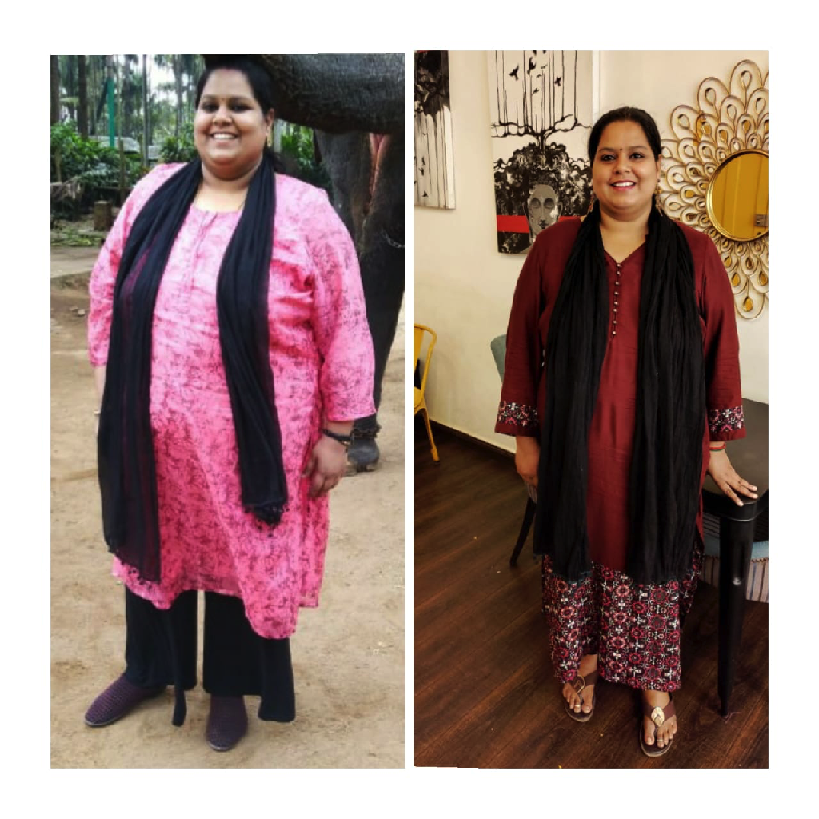 Ishwaryaa cured diabeties and lost 21 kilos in three months